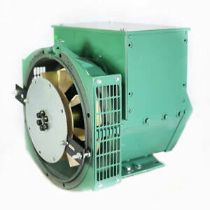 Generator Alternator Head Cgg184f 25kw 1 Ph Sae 4 8 120 240 Volts Industrial
