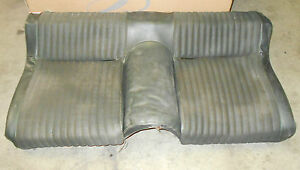 1965 1966 1967 1968 1969 1970 Mustang Gt Mach 1 Shelby Fastback Rear Lower Seat