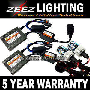 Zeez Canbus Asic Hid Fog Light Bulb Bi xenon Conversion Kit 6000k 8k 10k H4 9003