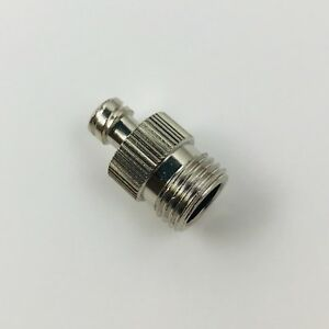 Metal Female Luer Lock Syringe Fitting To Pipe Bsp Bspp 1 4 Male