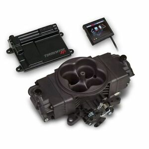 Holley 550 441 Terminator Stealth Efi 4bbl Throttle Body Fuel Injection System