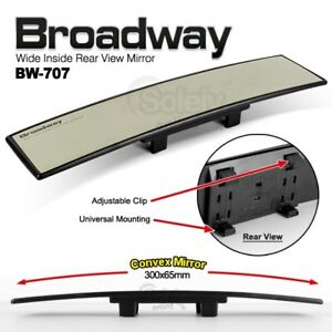New 300mm Napolex Broadway Convex Wide Car Rear View Mirror