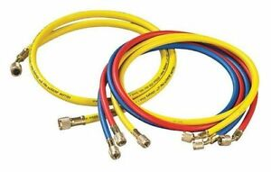 Yellow Jacket 21990 4 pack 60 Charging Hose ryb Standard 1 4