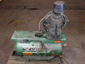 Speedaire 5f564 Compressor 30 Gallon Tank Not Working for Parts Only