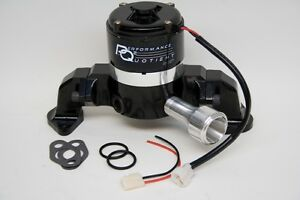 Big Block Ford 400 460 Lightweight Racing Electric Water Pump Black