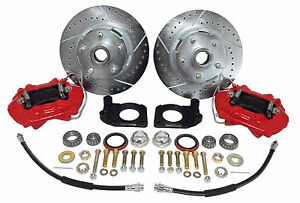1964 67 Ford Mustang Front Disc Brake Conversion Kit Deluxe Kit