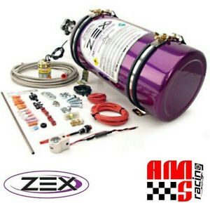 Zex 82270 Show Nitrous Oxide Purge Kit W o Light Includes 10 Lb Bottle
