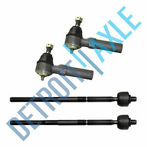 4pc Inner Outer Tierod Ends For 2011 2014 Dodge Charger Challenger 300 Rwd