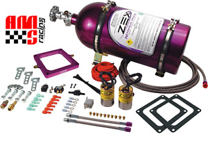Zex 82048 100 300 Hp Nitrous Oxide Perimeter Plate Kit For 4500 Dominator Carb