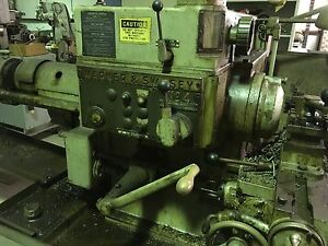 Warner Swasey No 4 Turret Lathe Model M 2240