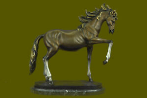 Horse Lovers Real Bronze Horses Numbered Sculpture Statue Equestrian Eg Decor