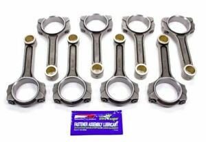 Scat 2 Icr6000 7 16 I Beam Connecting Rods Bushed 7 16 Arp Cap Screw Bolts