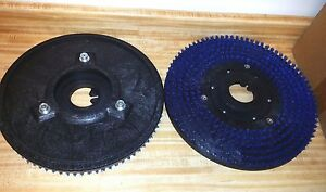 2 New 16 Driver 17 pads Tennant Nobles One Pair Floor Polisher 3 Pin Pad Grab