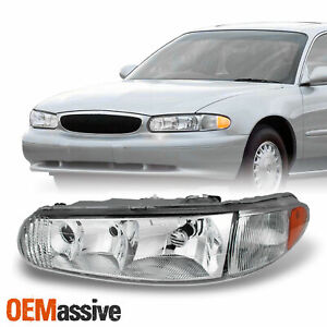 Fit 1997 2005 Buick Century Regal Driver Left Side Headlight Lamp Replacement