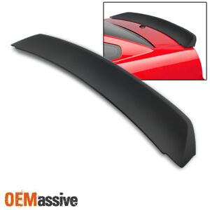 Fit 05 09 Ford Mustang Racing Trunk Tail Spoiler Wing Primer Gt Unpainted Abs