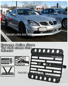 For 06 11 Mercedes benz R171 Slk class Front Tow Hook License Plate Bracket