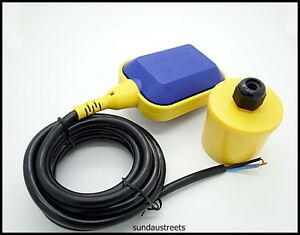 Float Switch Sensor For Water Level Controller With 3 Meter Wire Select No nc