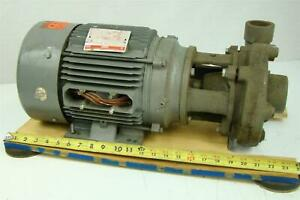 Dayton Cast Iron Centrifugal Pump With Bronze Impeller Dn086 3 Phase