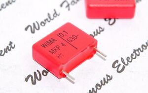 Wima Mkp4 0 1uf 0 1 f 100nf 630v 5 Pitch 15mm Capacitor