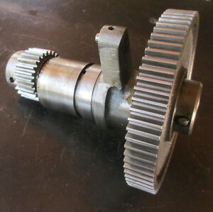 Logan 14 Lathe Complete Back Gear Assembly In Great Shape Free Ship