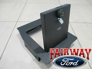 17 Thru 19 Super Duty Ford Console Security Vault Gun Safe With Captain Chairs