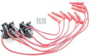 8 5mm Performance Spark Plug Wires Coil Packs 91 99 Ford Lincoln Mercury 4 6l V8