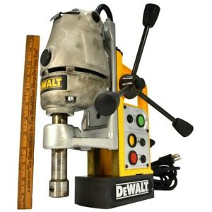 Briefly Used Dewalt Magnetic Drill Press dw151 Type 1 120v 60hz Works Perfect