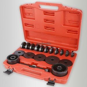 Fwd Front Wheel Drive Bearing Removal Adapter Puller Pulley Tool Kit W box