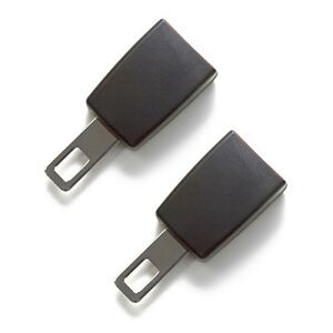 Mini Seat Belt Extender 2 Pack E4 Safety Certified Black Type A Click