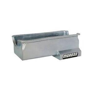 Moroso 20614 Oil Pan Steel Clear Zinc 7 Qt For Ford 429 460