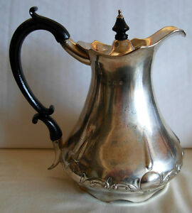 Sterling Silver Hot Water Pot Birmingham 1909 By Fattorini Sons 630 Grams