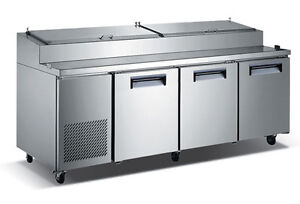 92 Commercialrefrigerated Pizza Prep Table