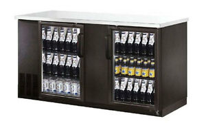 Commercial Back Bar Cooler 69 Glass Door