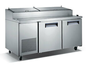 71 Commercial Refrigerated Pizza Prep Table