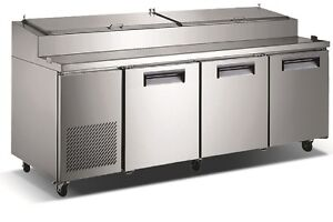 Commercial Refrigerated Pizza Prep Table 92