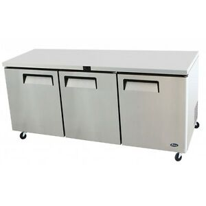 72 Commercial Undercounter Reach In Refrigerator Cooler