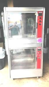 Oven Rotisory Double Stack 48 Chickens Capacity Electric Hobart
