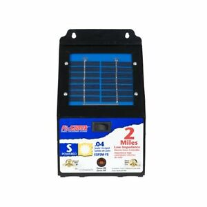 Fi shock 2mile Solar Powered Low Impedance Pet Deterrent Fence Energizeresp2m fs