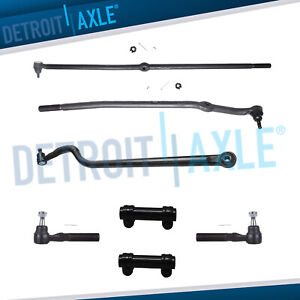 For 2000 2001 Dodge Ram 1500 2500 3500 4wd Front Tie Rod Drag Link Track Bar Kit