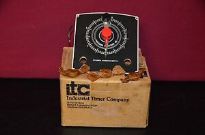 Packaging Industries Industrial Timer Company Itc J 1042 p 6sec 0 1 6 Second