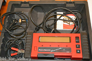 Snap On Mt2500 Obd1 Bidirection Diagnostic Scanner Scan Tool Personality Card