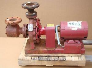 Armstrong Pump 140 Usgpm 175psi 109 Ft 7 5 Hp 1800 Rpm 3x2x10 4030