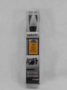Duplicolor Scratch Fix All In 1 Touch Up Paint Afm0404 Ford Chrome Yellow By