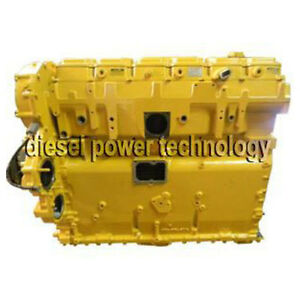 Caterpillar 3406e Remanufactured Diesel Engine Extended Long Block Or7 8 Engine