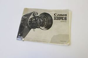 original canon scoopic 16 movie