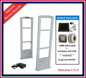 2000 Labels Retail Store Rf Checkpoint Compatible Anti theft Security System