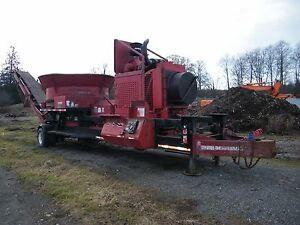 1996 Toro Progrind 2000 Tub Grinder Wood Chipper Rebuilt Engine Cummins 450hp
