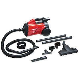 Extend Canister Vacuum 10 Lb Red