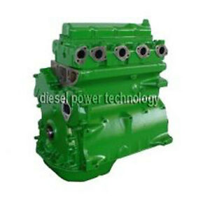 John Deere 4045t Remanufactured Diesel Engine Extended Long Block