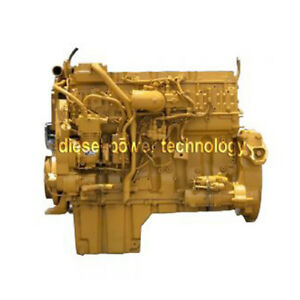 Caterpillar C13 Remanufactured Diesel Engine Extended Long Block Or 7 8 Engine